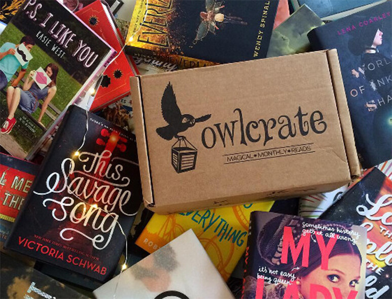 Owlcrate Young Adult Novel Box