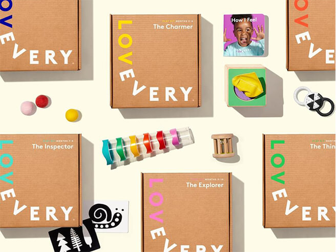 Lovevery Developmental Play Kits