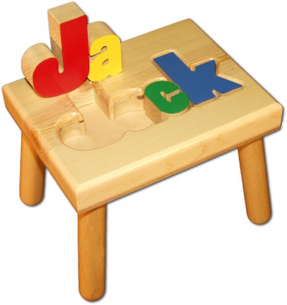 Damhorst Toys Name Puzzle Stool