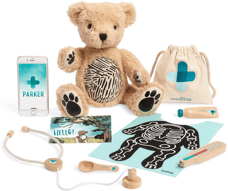 Seedling Parker: Augmented Reality Bear