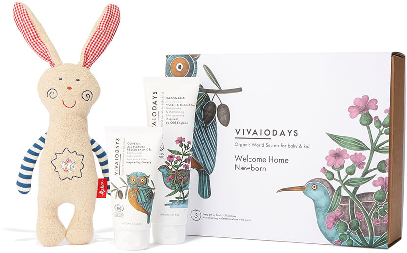 Vivaiodays Welcome Home Newborn Gift Set