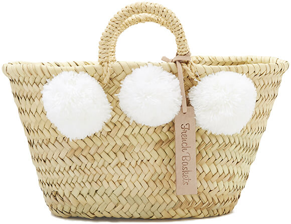 French Baskets  Kid'S Pom Pom Basket