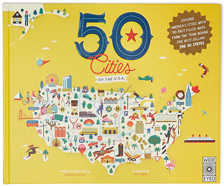 Quarto Knows 50 Cities Of The U.S.A. Book