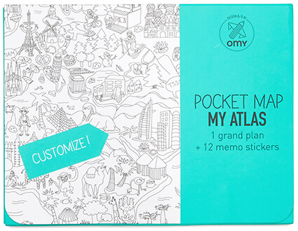 Omy My Atlas Pocket Map