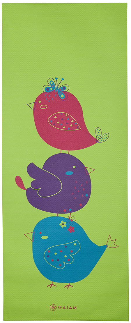 Gaiam Kids Birdsong Yoga Mat