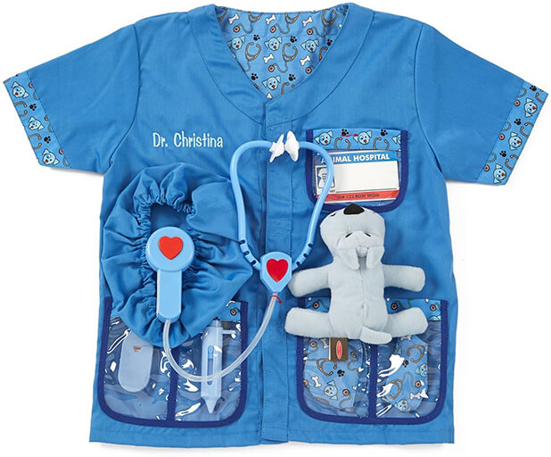 Melissa & Doug Personalized Veterinarian Costume