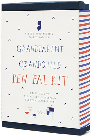 Mr. Boddington Grandparent + Grandchild Pen Pal Kit