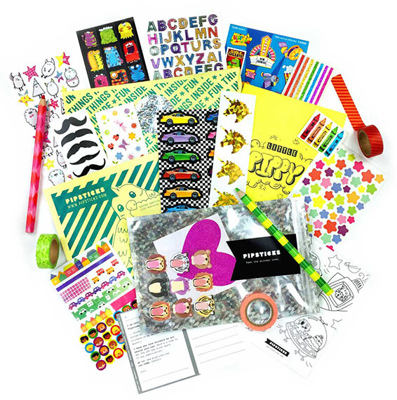 Pipsticks Kid'S Sticker Club