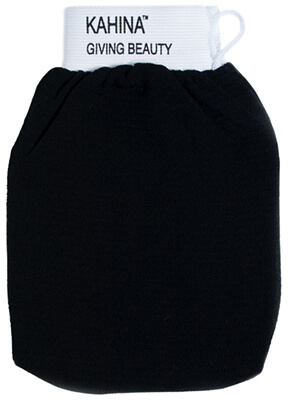 Black Shower Mitt