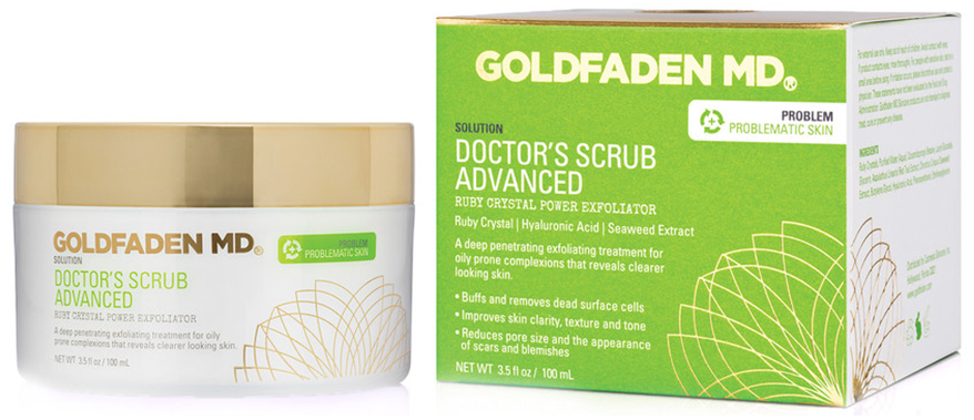 GOLDFADEN MD scrub