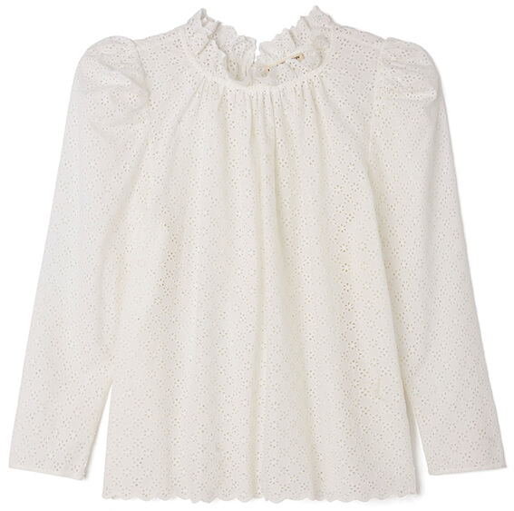 Ulla Johnson GRACIE COTTON BLOUSE