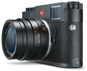 Leica m10 black chrome camera