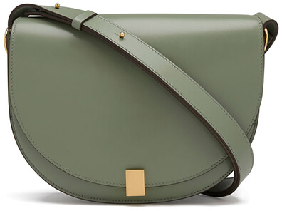Victoria Beckham SAGE LEATHER HALF MOON TOTE