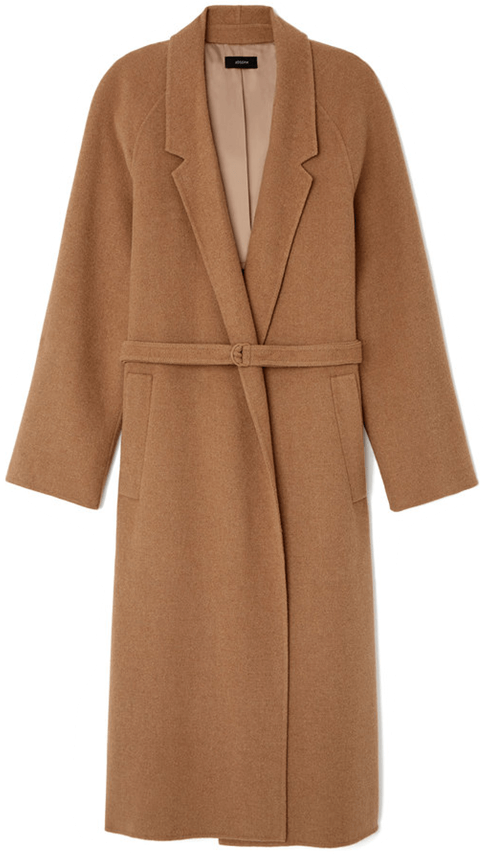 Joseph SOLFERINO CAMEL HAIR TRENCH COAT