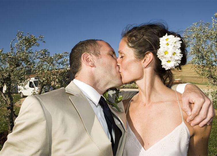 Danielle Pergament wedding photo