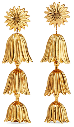OSCAR DE LA RENTA earrings<
