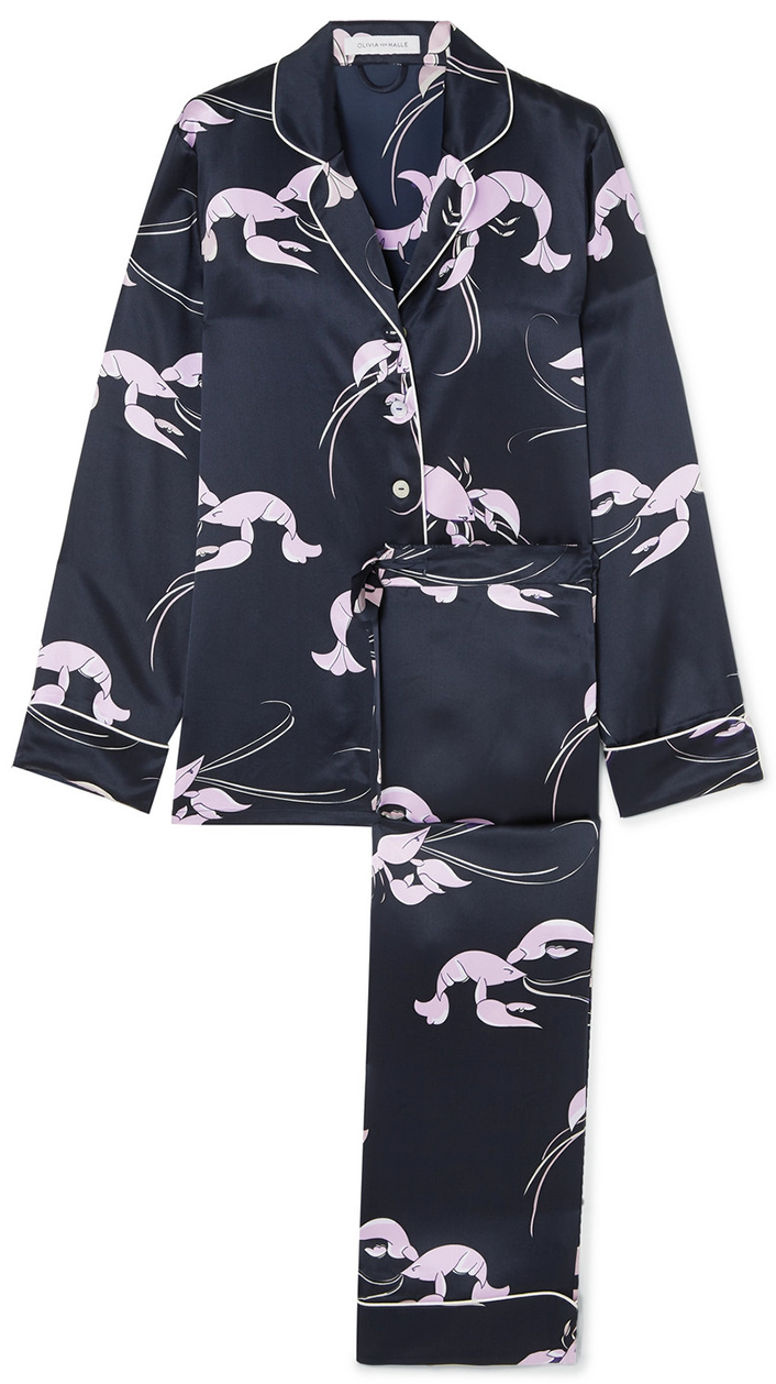 OLIVIA VON HALLE          pajama set