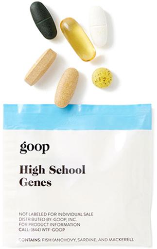 Goop Wellness High School Genes