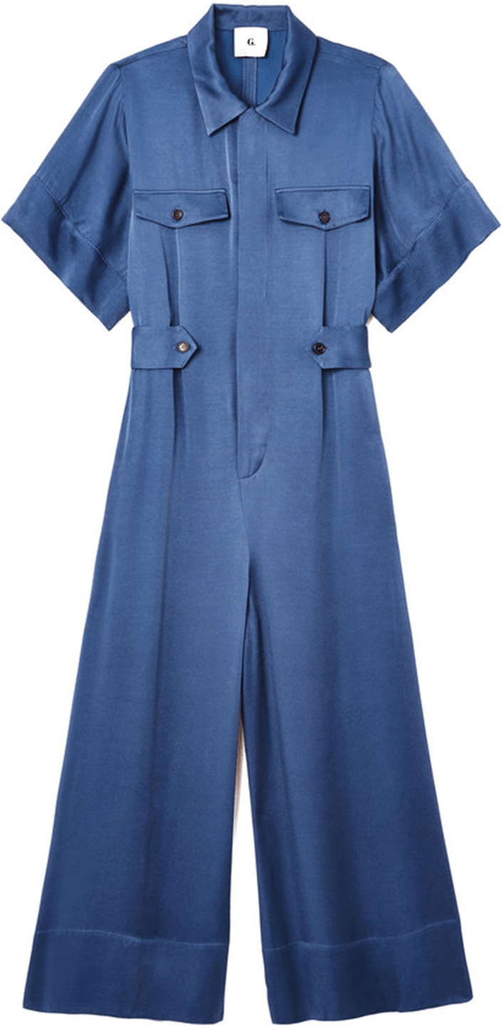 shirley short-sleeve jumpsuit