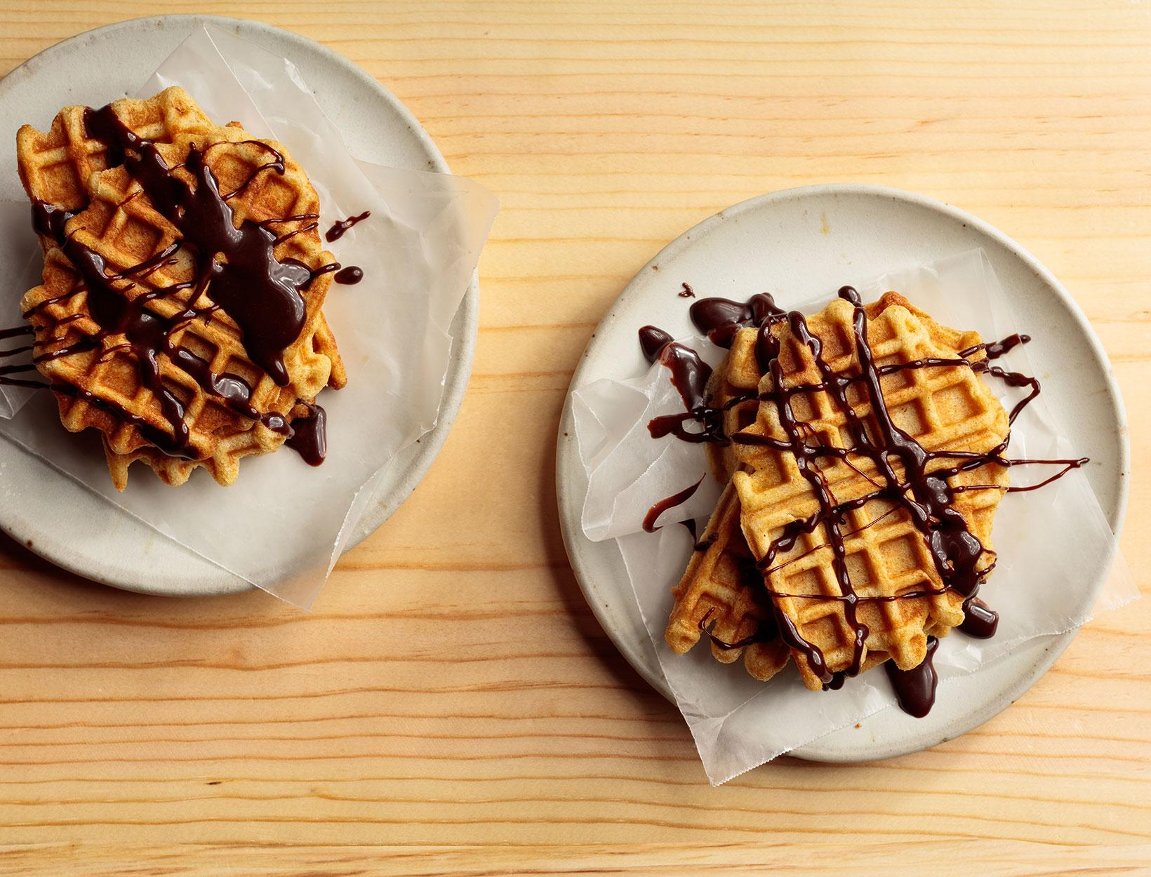 Liège-Style Spelt Waffle
