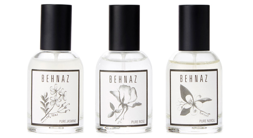 Behnaz Fragrance Flight