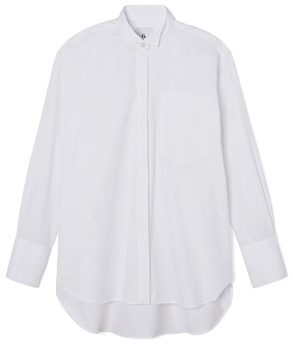 g. label ali oversize tux shirt