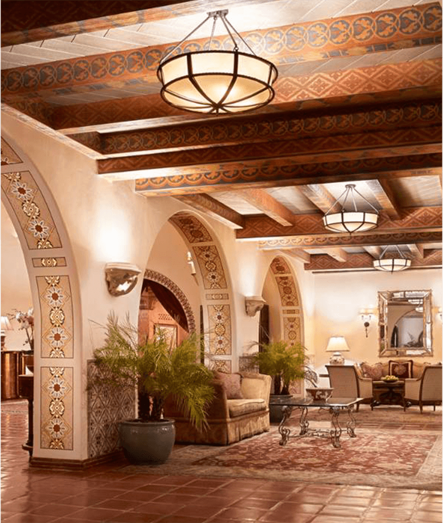 The Four Seasons Biltmore Santa Barbara Lobby