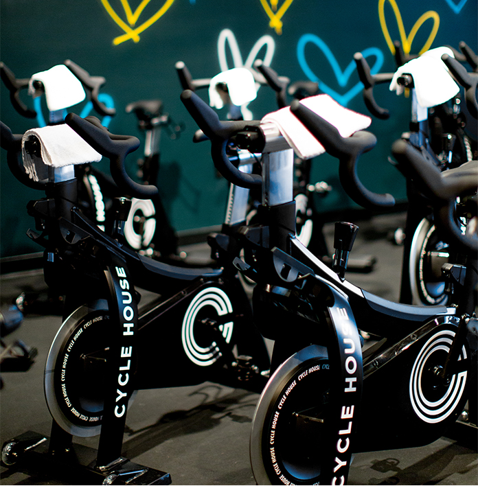 CYCLE HOUSE SPIN CLASS