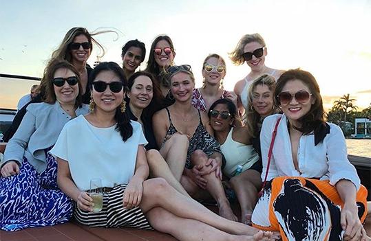 Jennie Baik and friends