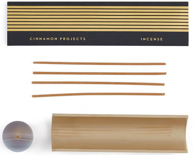 goop exclusive agate burner + incense set