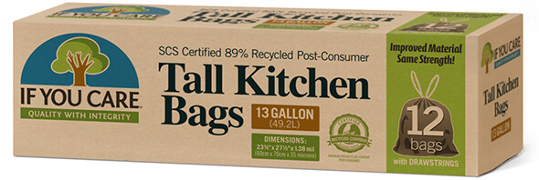 If You Care recycled kitchen bags