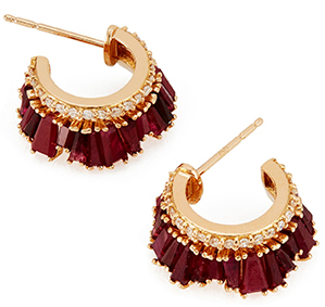 Nak Amrstrong PETITE HALF                RUCHED HOOPS
