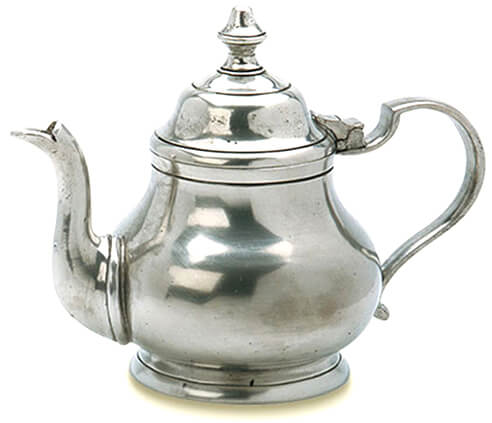 Match Pewter Teapot