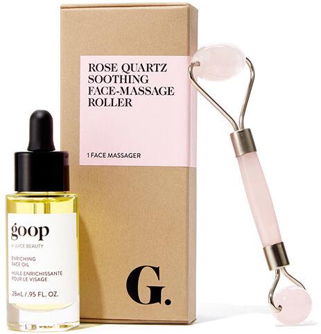 Goop Rose Quartz Roller