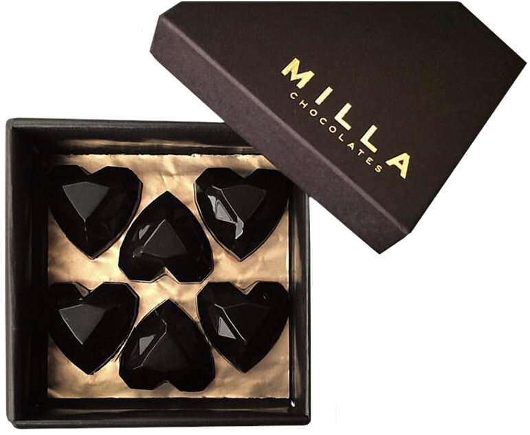 Milla Chocolates Heart Bon Bons