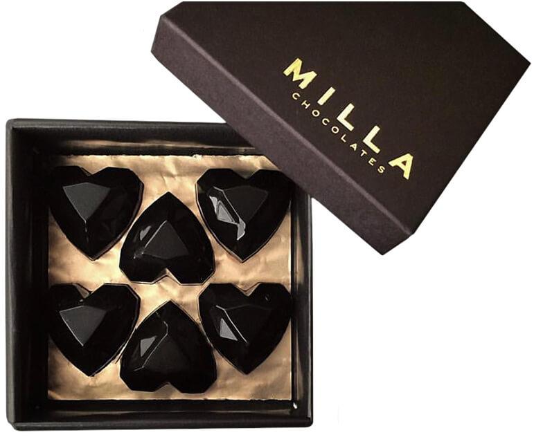 Milla Chocolates Heart Bon Bons