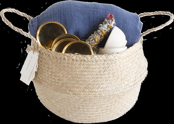 M. Marian Blueblossom Basket