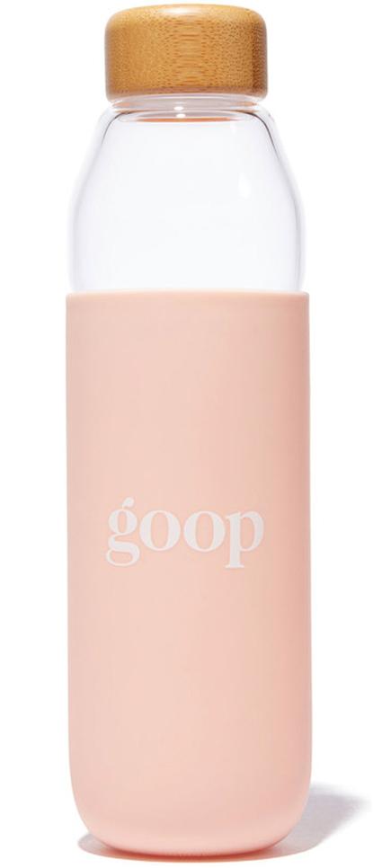 GOOP GLASS WATER BOTTLE