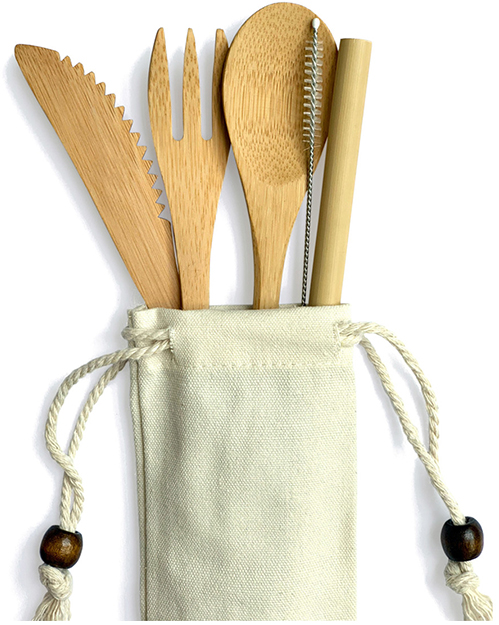 Bamboo Straw Girl