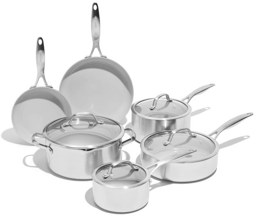 GreenPan Venice Pro Ceramic Non-Stick Cookware Set