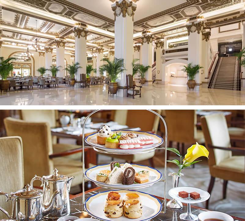 Tea at the Peninsula Hotel Hong Kong