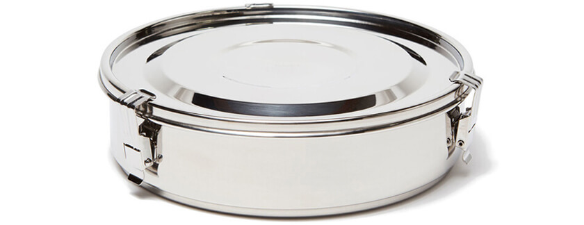 Onyx Steel Food Storage Container