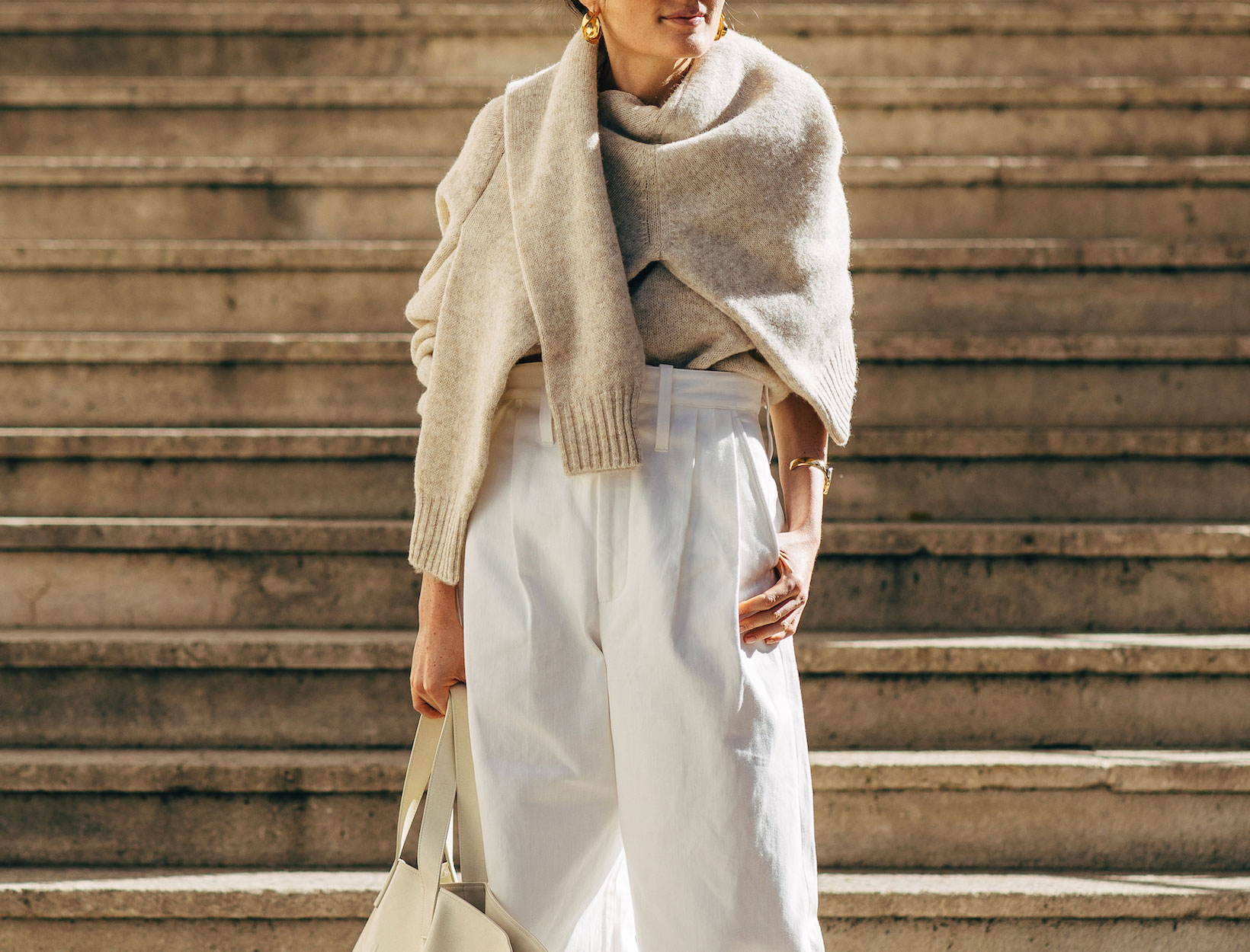 Style Update Cashmere Sweater Trends