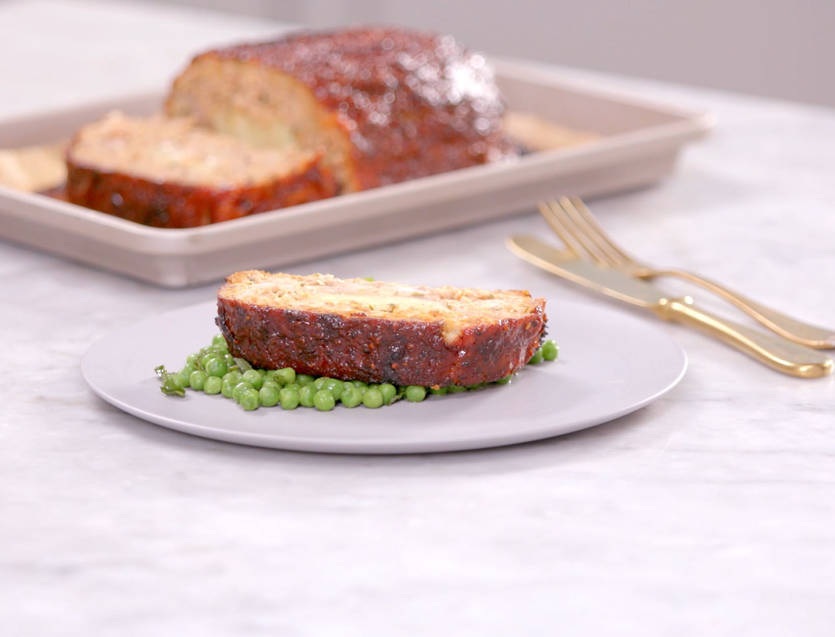 Turkey Meatloaf with a Block of Sharp Cheddar