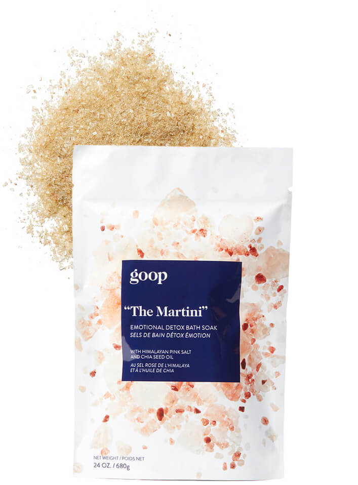 "goop Body ""The Martini"" Emotional Detox Bath Soak"