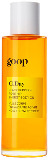 goop Body G.DAY BLACK PEPPER + ROSE HIP ENERGY BODY OIL