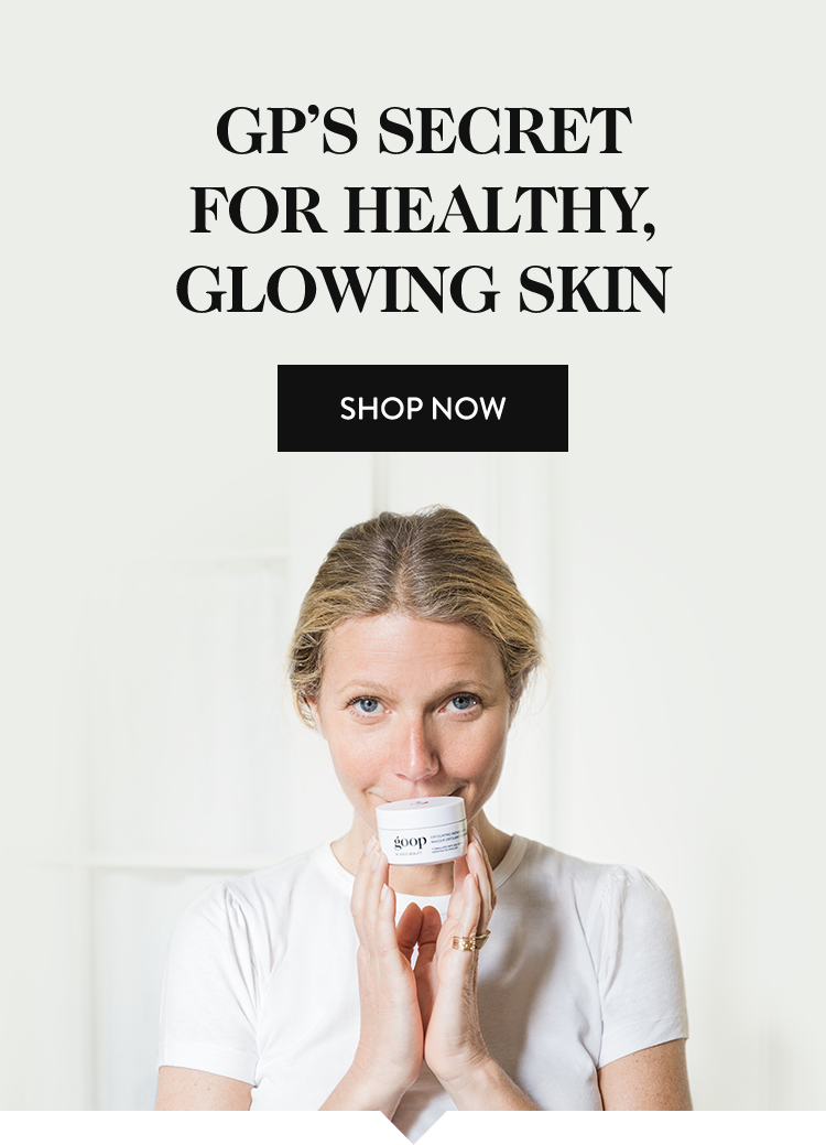 goop healthy glowing skin Instant Facial