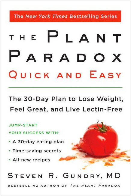 THE PLANT PARADOX: QUICK AND EASY