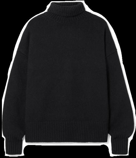 The Row Sweater Black