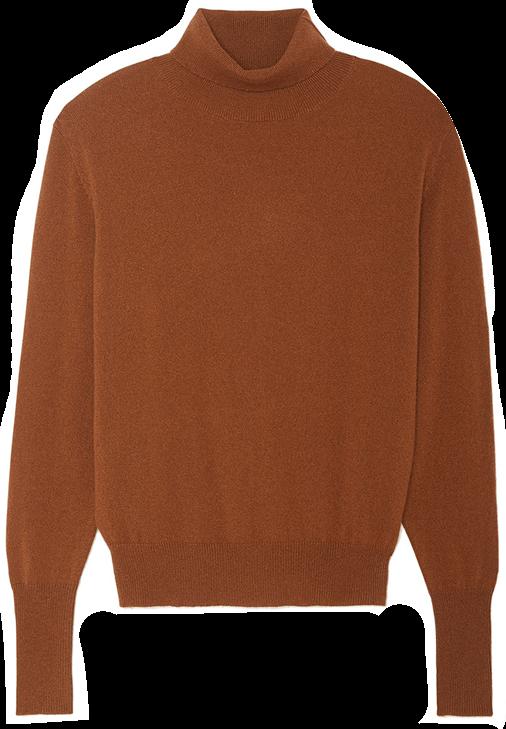 Nili Lotan Lakota Wrap Front Cashmere Sweater